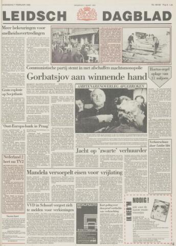 Leidsch Dagblad 1990-02-07
