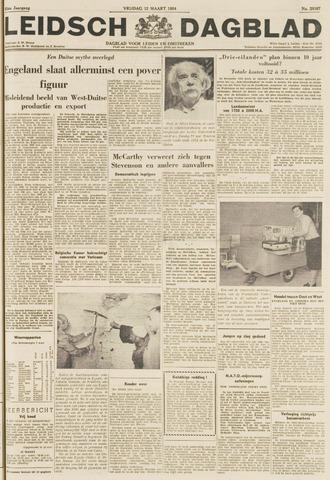 Leidsch Dagblad 1954-03-12
