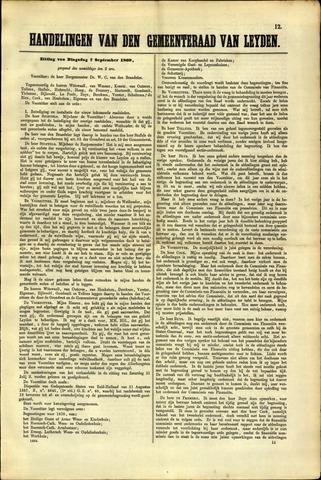Handelingen van de Raad 1869-09-07