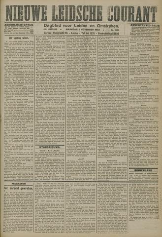 Nieuwe Leidsche Courant 1923-11-05
