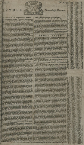 Leydse Courant 1748-11-06