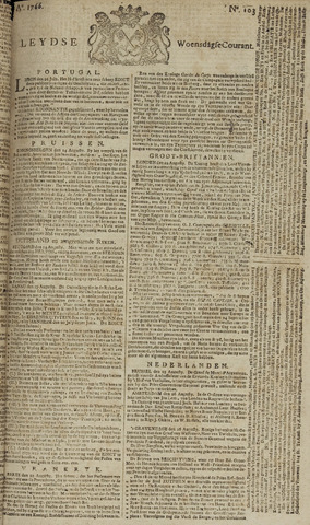 Leydse Courant 1766-08-27