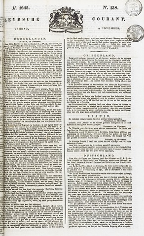 Leydse Courant 1843-11-17