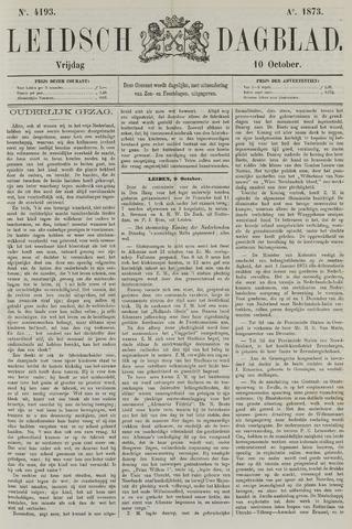 Leidsch Dagblad 1873-10-10