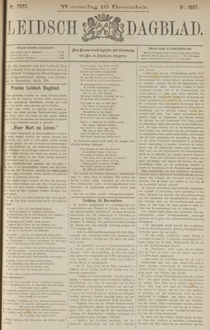 Leidsch Dagblad 1885-12-16
