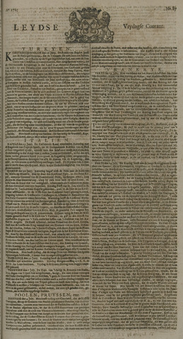 Leydse Courant 1725-07-20