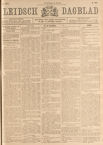 Leidsch Dagblad 1915-06-04