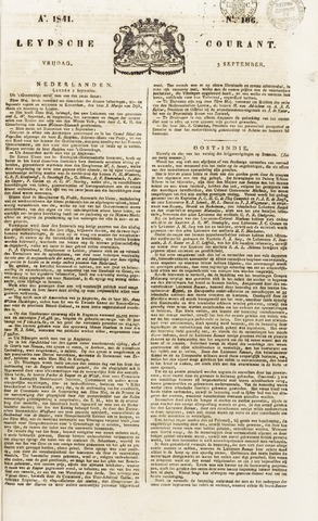Leydse Courant 1841-09-03