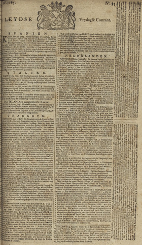 Leydse Courant 1765-08-09