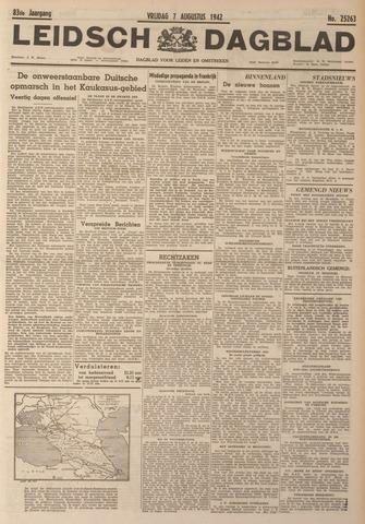 Leidsch Dagblad 1942-08-07
