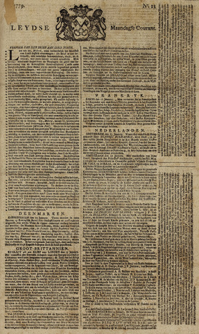 Leydse Courant 1779-01-25