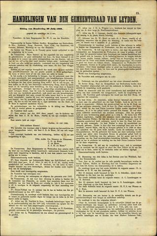 Handelingen van de Raad 1868-07-30