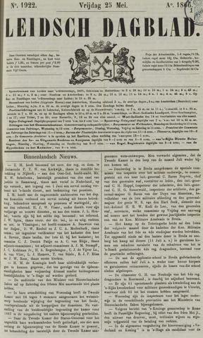 Leidsch Dagblad 1866-05-25