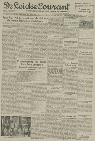 Leidse Courant 1949-02-21