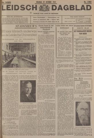 Leidsch Dagblad 1937-10-29