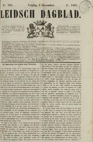 Leidsch Dagblad 1861-11-08