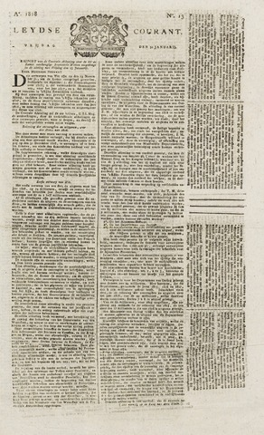 Leydse Courant 1818-01-30
