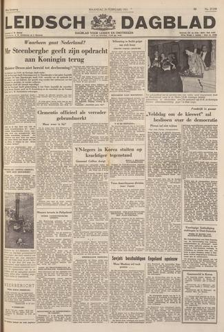 Leidsch Dagblad 1951-02-26