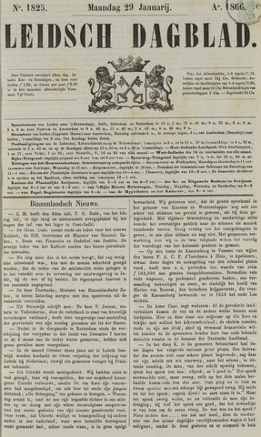 Leidsch Dagblad 1866-01-29