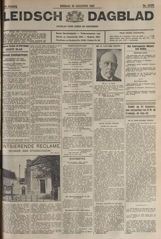 Leidsch Dagblad 1933-08-29