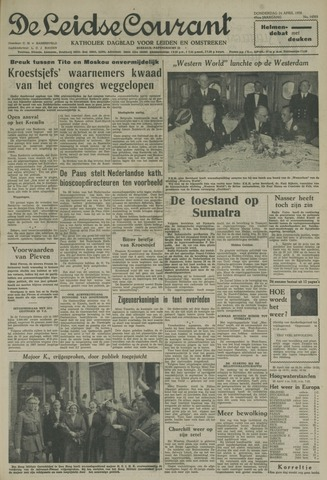 Leidse Courant 1958-04-24