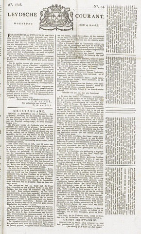Leydse Courant 1828-03-19