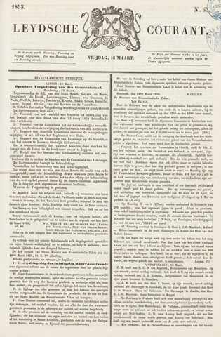 Leydse Courant 1855-03-16