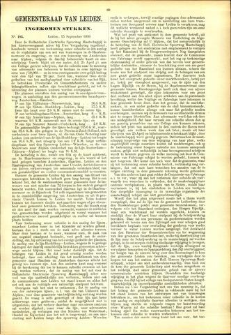 Handelingen van de Raad 1899-09-15