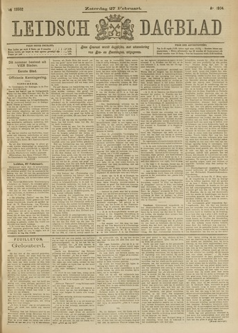Leidsch Dagblad 1904-02-27