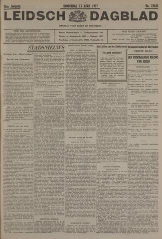 Leidsch Dagblad 1937-04-15
