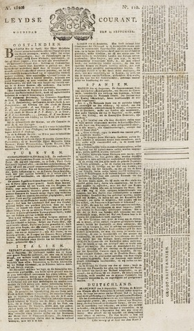 Leydse Courant 1820-09-13