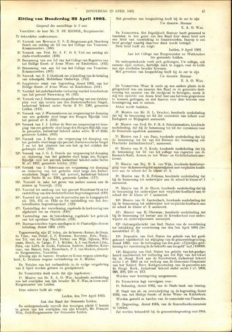 Handelingen van de Raad 1903-04-23