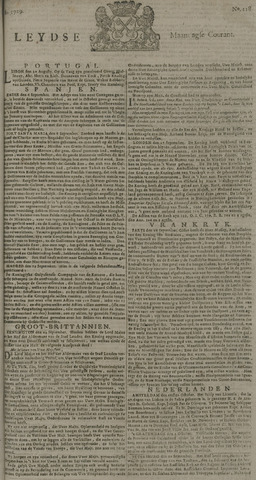 Leydse Courant 1729-10-03