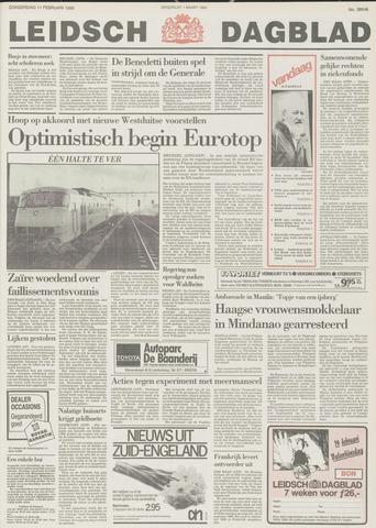 Leidsch Dagblad 1988-02-11