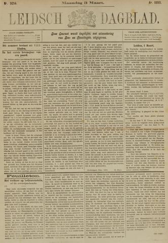 Leidsch Dagblad 1890-03-03
