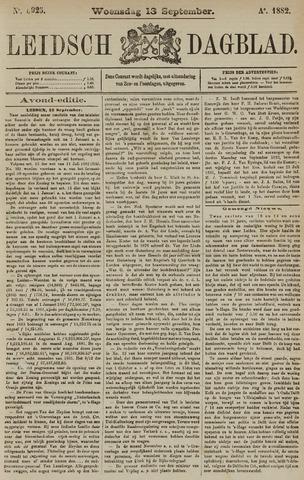 Leidsch Dagblad 1882-09-13