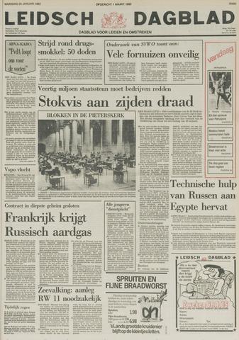 Leidsch Dagblad 1982-01-25