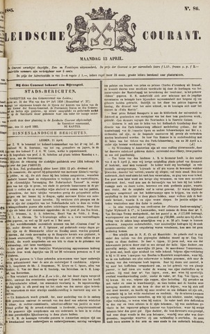 Leydse Courant 1885-04-13
