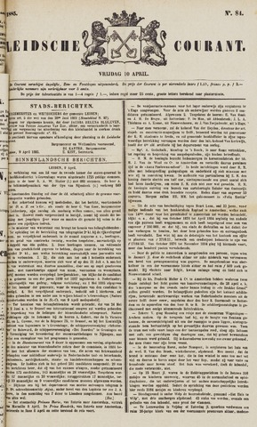 Leydse Courant 1885-04-10
