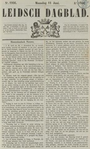 Leidsch Dagblad 1866-06-11