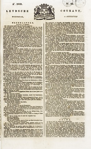Leydse Courant 1841-08-11
