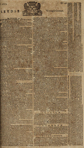 Leydse Courant 1753-03-02