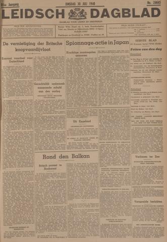 Leidsch Dagblad 1940-07-30