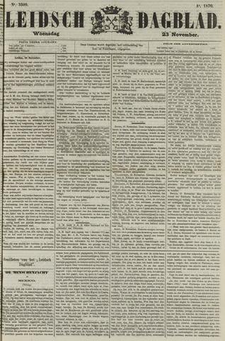 Leidsch Dagblad 1870-11-23