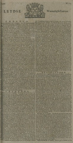 Leydse Courant 1722-08-26