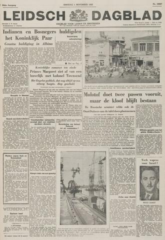 Leidsch Dagblad 1955-11-01