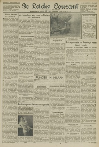 Leidse Courant 1947-11-29