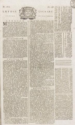 Leydse Courant 1815-11-17