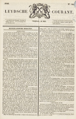 Leydse Courant 1846-05-29