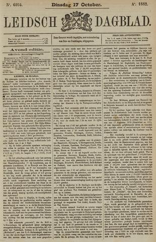 Leidsch Dagblad 1882-10-17